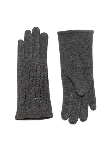 Bay Şapkacı Eldiven Siyah